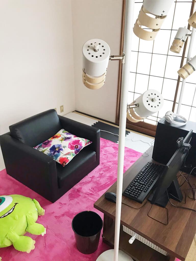 ふわろぐちゃっとのスタジオ個室2
